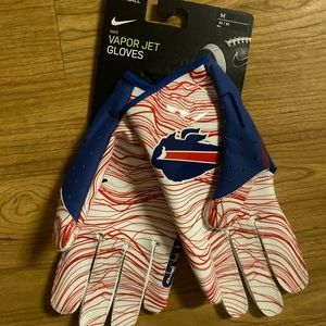 Nike Vapor Jet Buffalo #BillsMafia gloves medium